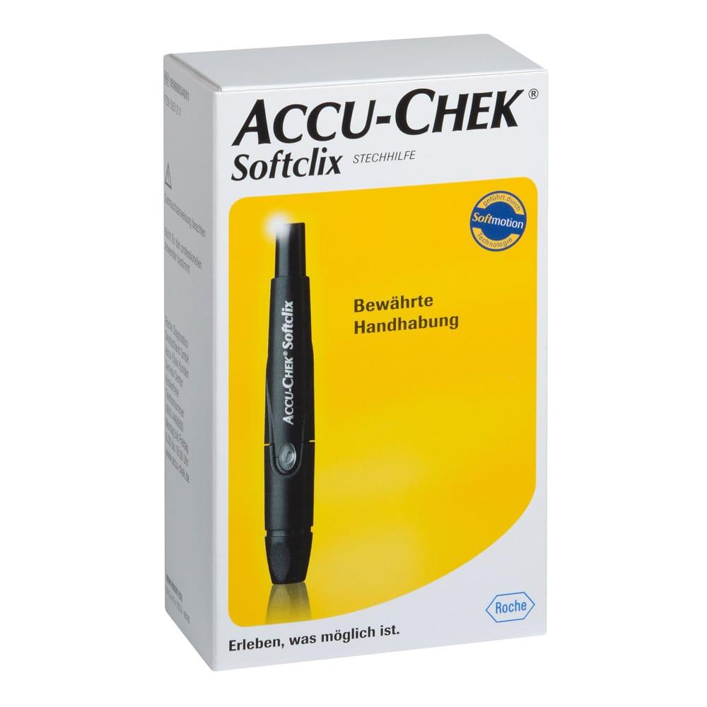 Accu-Chek Softclix schwarz
