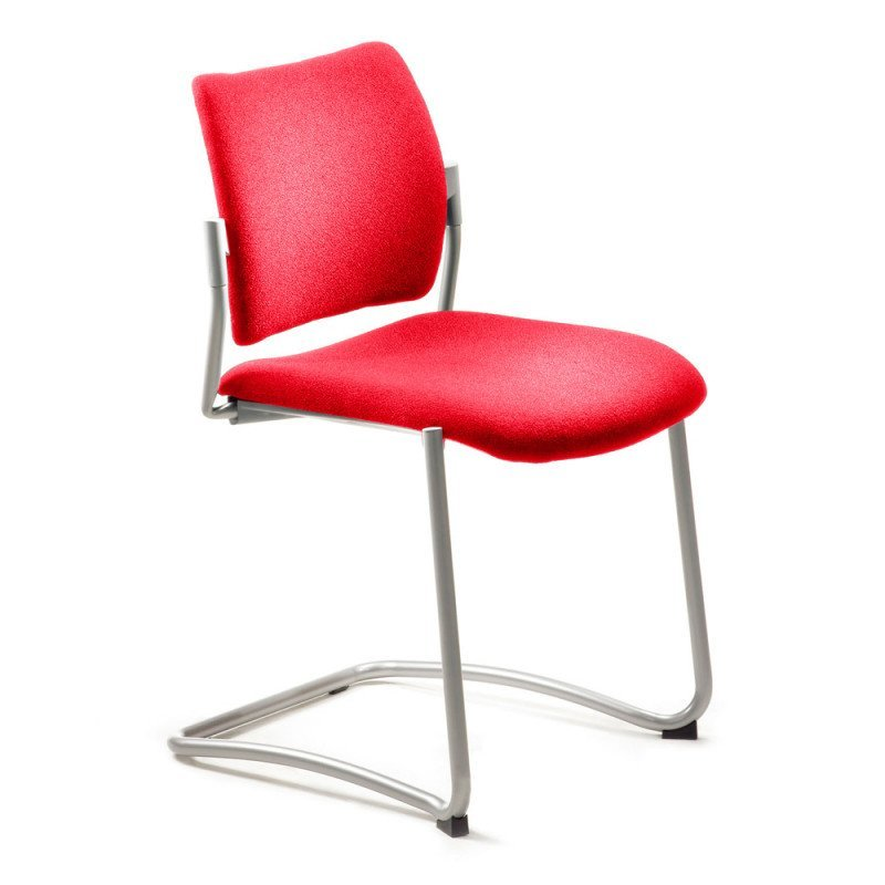 Stackable Cantilever Chair red