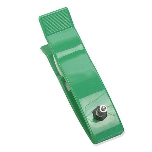 Klammerelektrode für Erwachsene in der Farbe grün