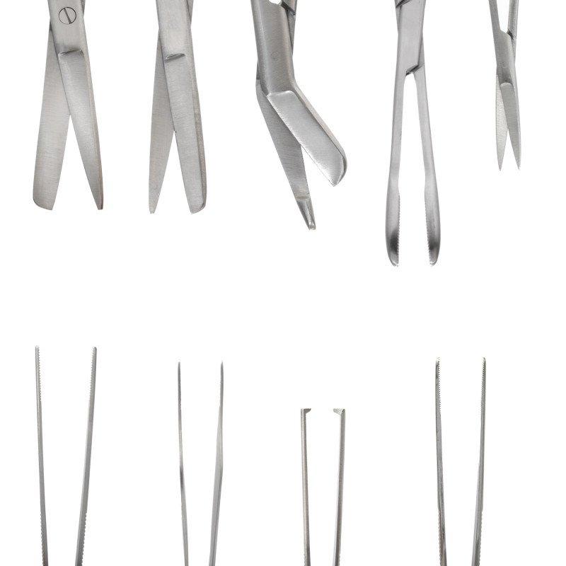 Instrumentenset mit 8 Mehrweginstrumenten von Christopherus CBC