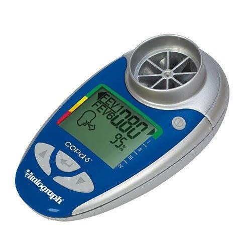 Elektronische COPD-screener met USB-aansluiting en software
