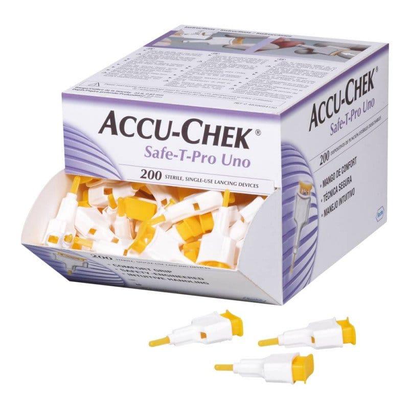 Accu-Chek Safe-T Pro nakłuwacze stała głębokość