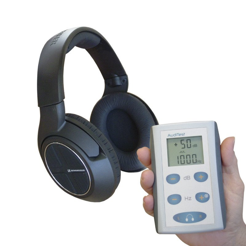 Auditest Audiometer - portables Audiometer