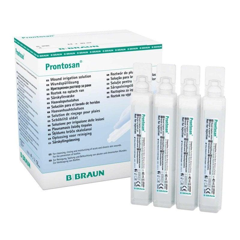 Wundspüllösung Prontoson in Ampullen à 40 ml