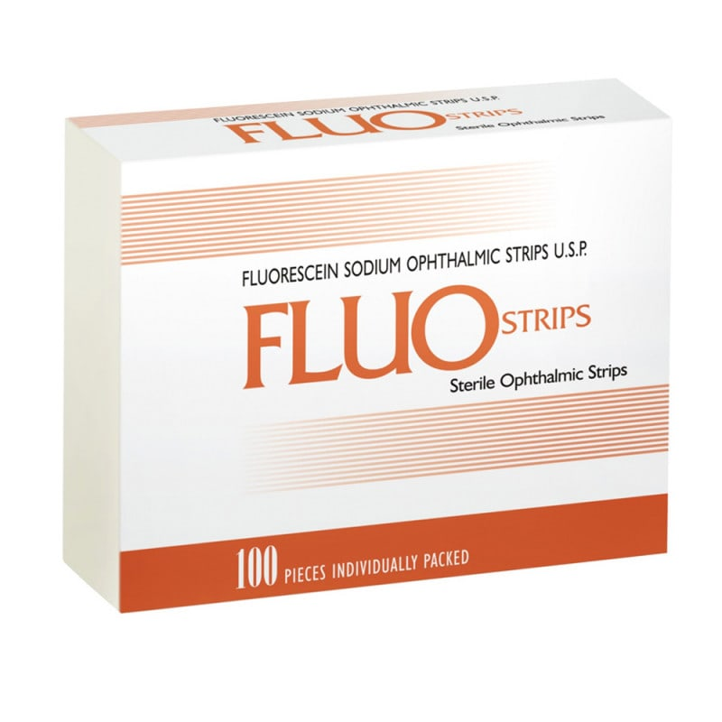 Bandelettes de test pour la fluorescéine