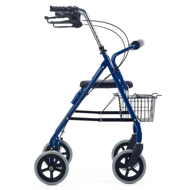 Andador ortopédico azul