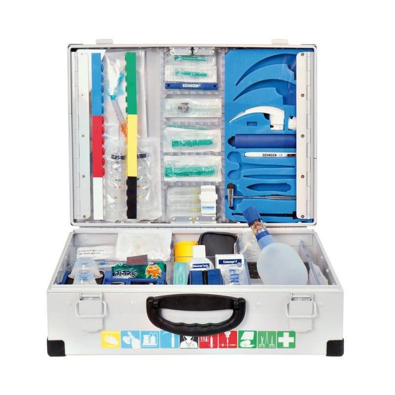 Cassetta d'emergenza EUROMED con riempimento: Modulo A+C