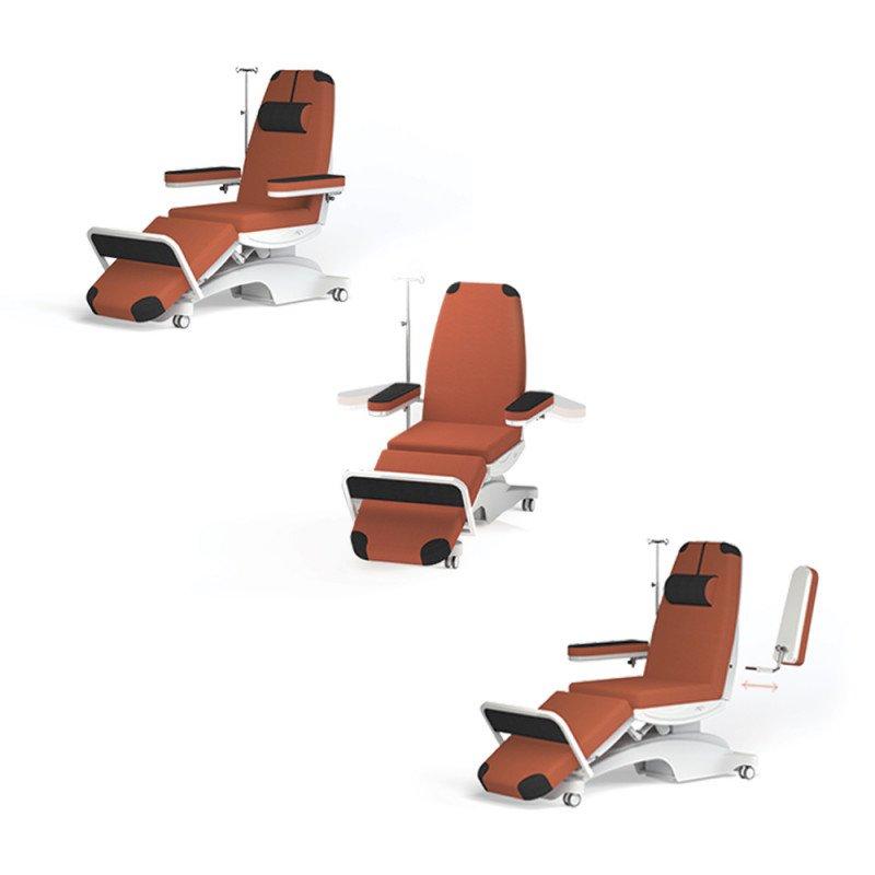 Dialysis Chair «Diasit» coral