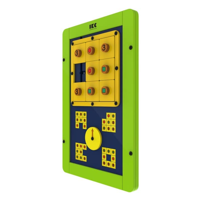"IKC Game Module ""Square Logic"" green"