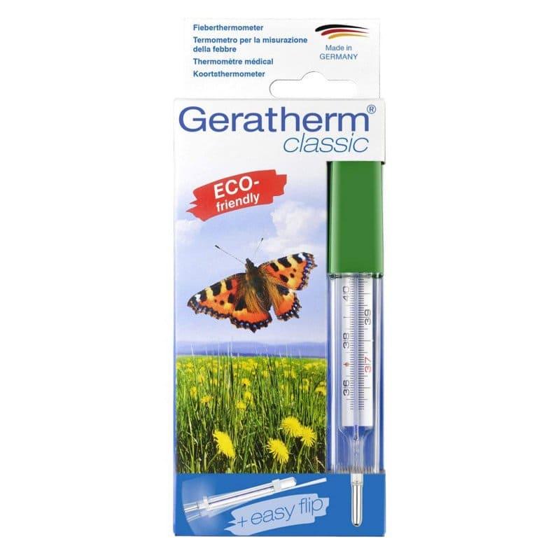 Thermomètre Geratherm classique avec aide à l'agitation