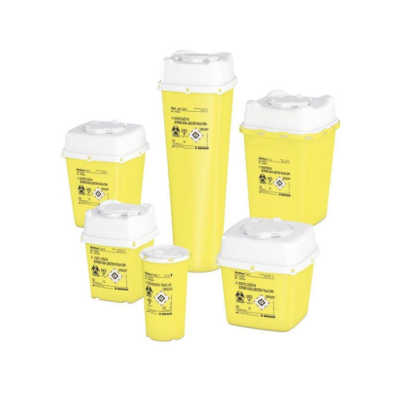 Medibox Entsorgungsbehälter in verschiedenen Größen