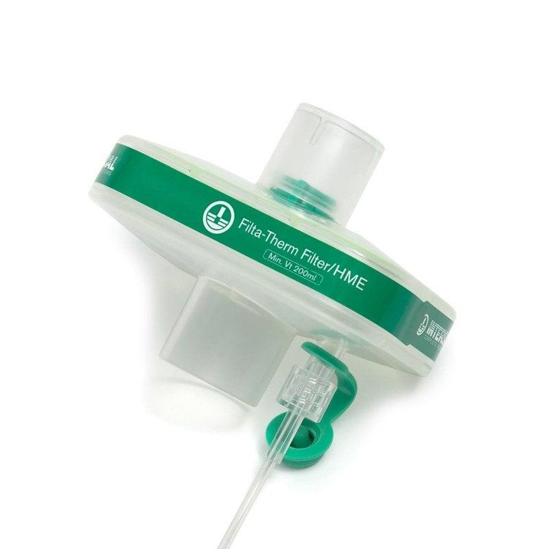 HME-Filter «Filta-Term» mit Luer-Port von Intersurgical