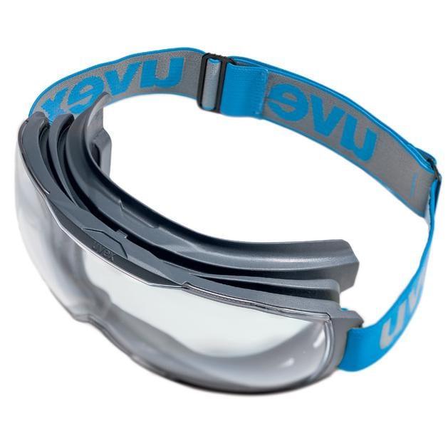 Lunettes de protection à vision intégrale uvex megasonic