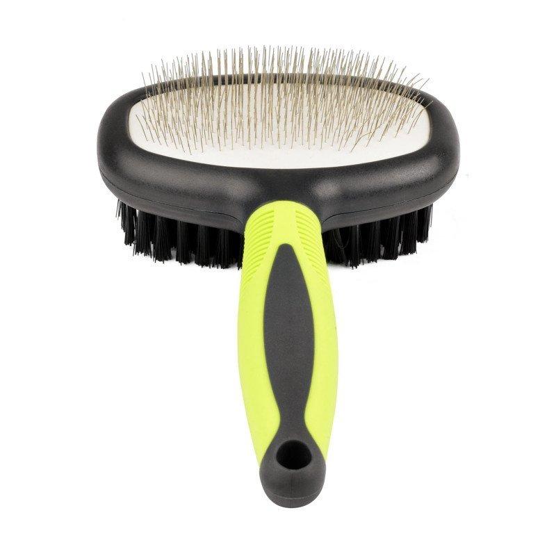 Spazzola doppia per pelo