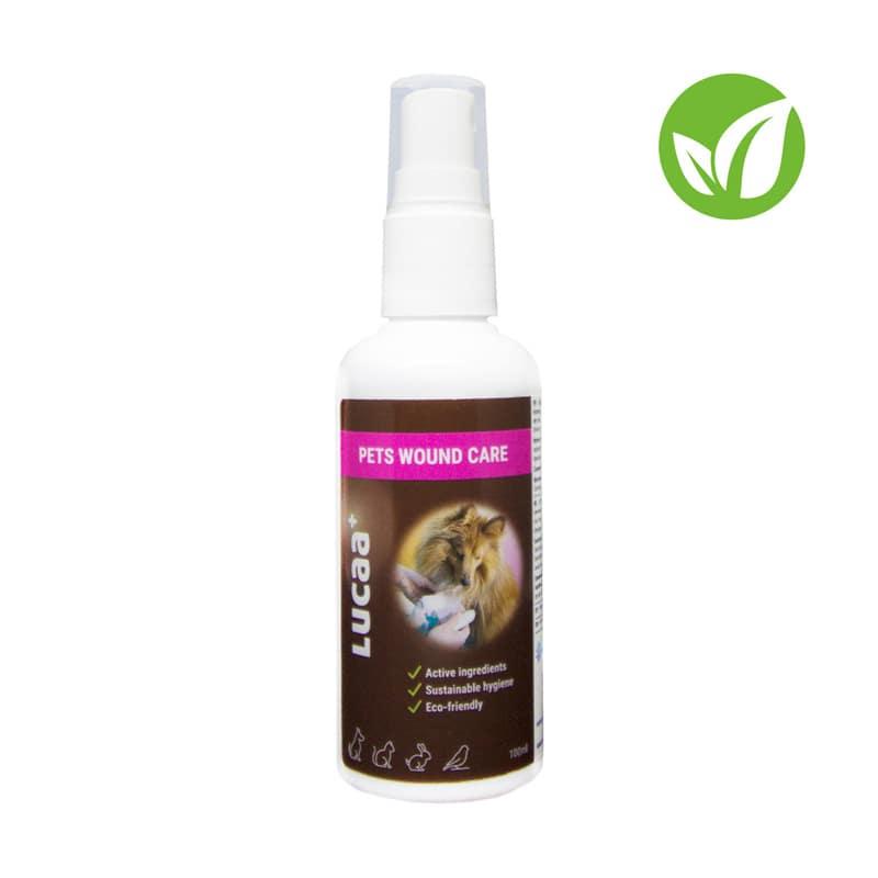 Spray probiotico disinfettante per ferite