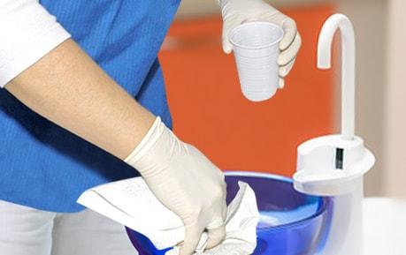 Afzuigsystemen desinfectie