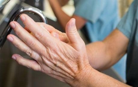 Handwaschlotionen