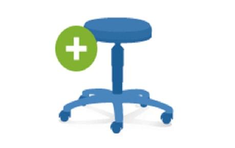 Configurez votre tabouret médical personnel!
