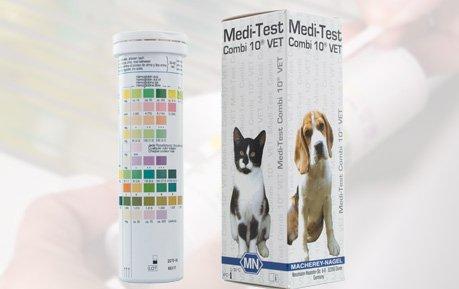 Bandelettes de test urinaires pour animaux