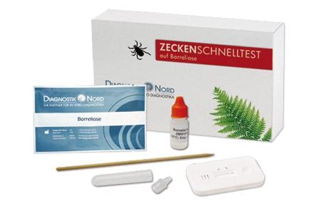 Lyme-borreliose Snelle test