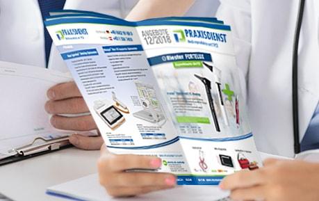 Praxisdienst Flyer-Angebote