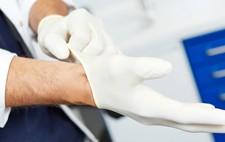 Gants médicaux