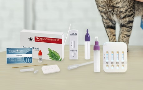 Veterinaire sneltests