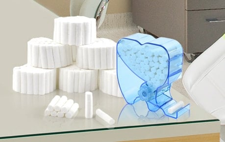 Cotton Rolls and Dispensers