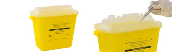 Sharps Bins for the Surgery and Hospital