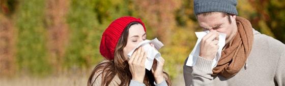 Winterzeit – Erkältungszeit