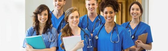 Ubrania medyczne dla studentów