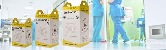 Medizinische Entsorgungsboxen