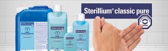 Disinfettante per mani Bode Sterillium classic pure