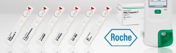 Roche Cardiac Teststreifen
