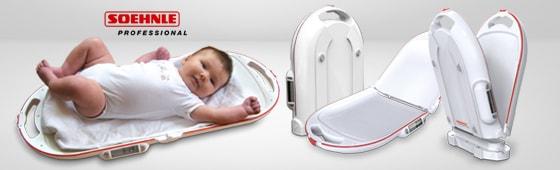 Klappbare Babywaage von Soehnle