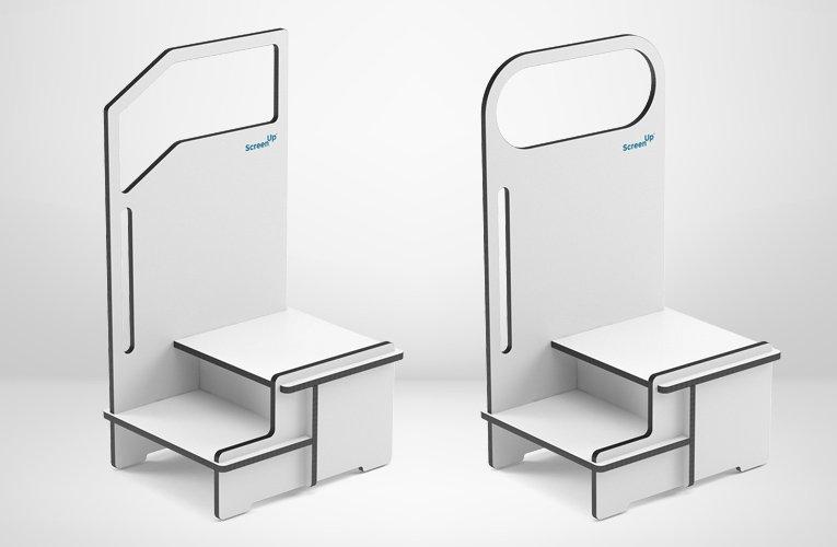 ScreenUp® Step-Up Platforms