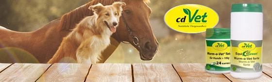 Wurm-o-Vet für Hunde & Pferde