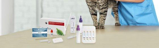 Test rápidos para Veterinaria