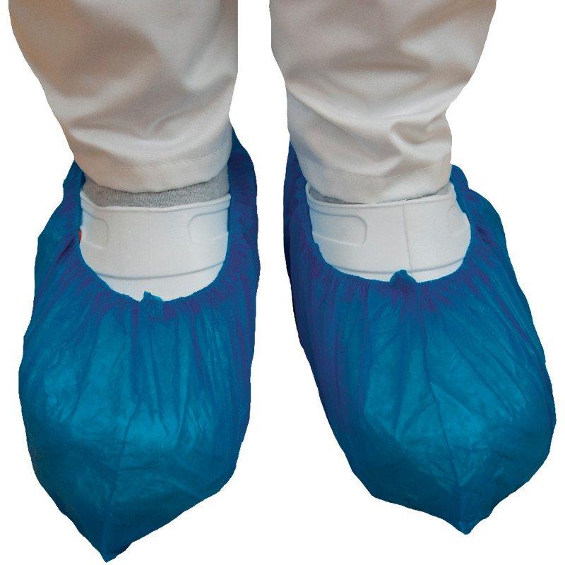 Cubrezapatos quirúrgicos, azul