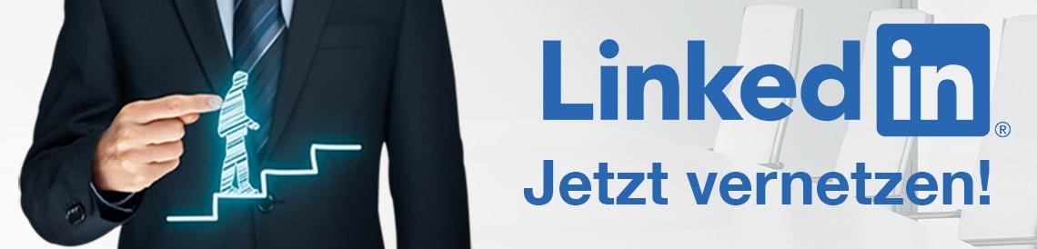 LinkedIn Jetzt vernetzen!
