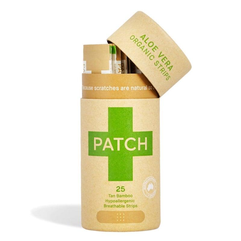 Pansement adhésif bambou PATCH avec Aloe Vera