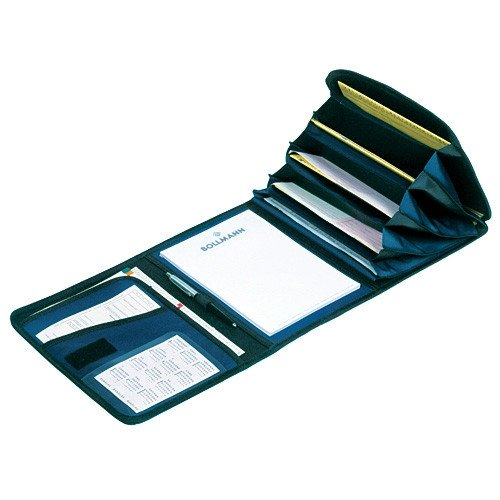 DIN A4 Expanding Folder with 9 Compartments blue
