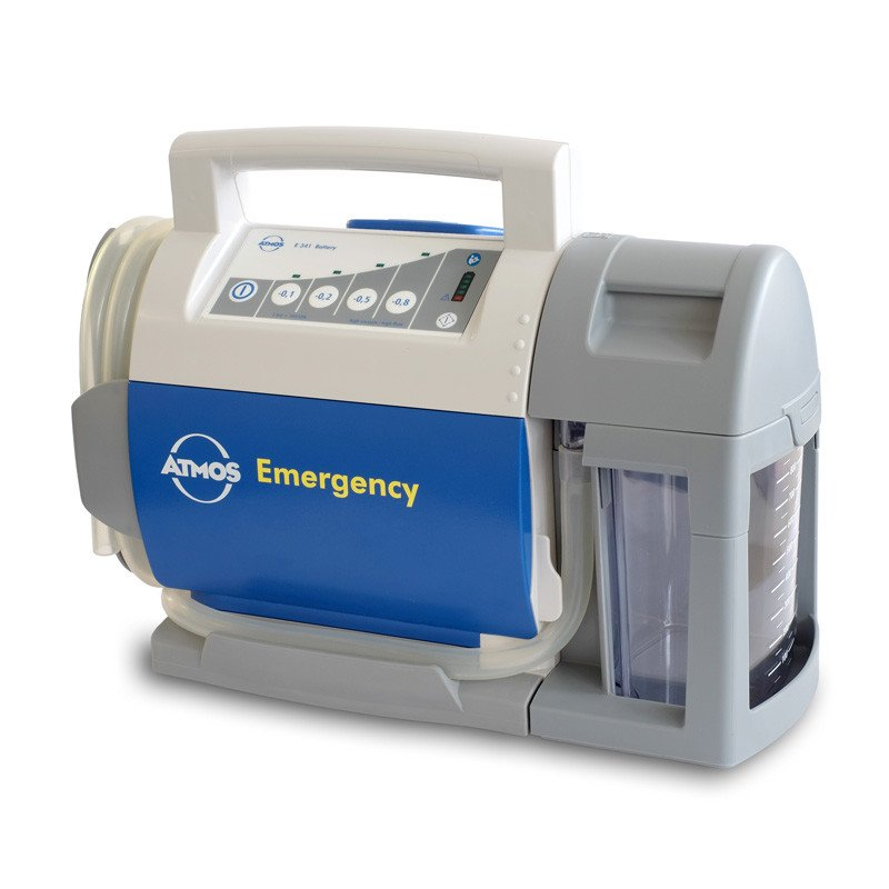 Emergency Aspirator Pump ATMOS E341 Battery with Serres container system