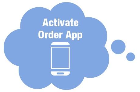 Activate Praxisdienst Order App