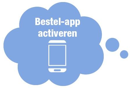 Bestel-app activeren