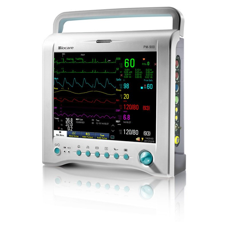 Biocare PM900 Patient Monitor without thermal printer with 5 EKG deviations