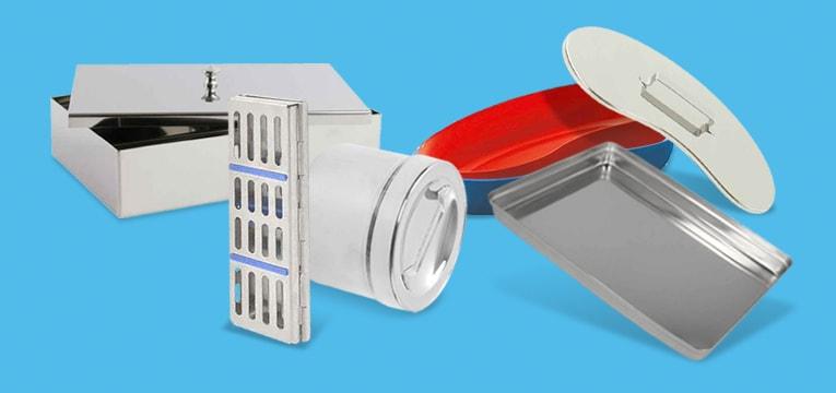 Instrumenten- en nierschalen en trays