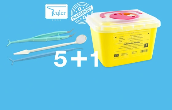 Sterile Disposable Dental Kit + Free Sharps Bin