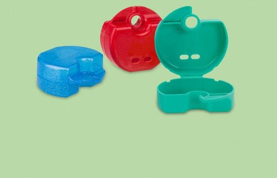 Farbige KFO-Boxen
