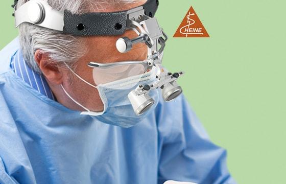Occhialini binoculari HEINE HR 2,5x